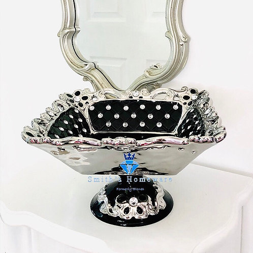 Diamante Studded Fruit Bowl