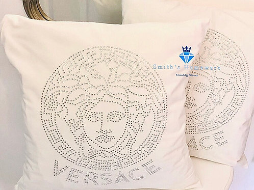Inspired pair of cushions