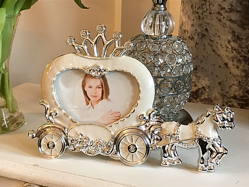 Horse and Carriage Photo Frame