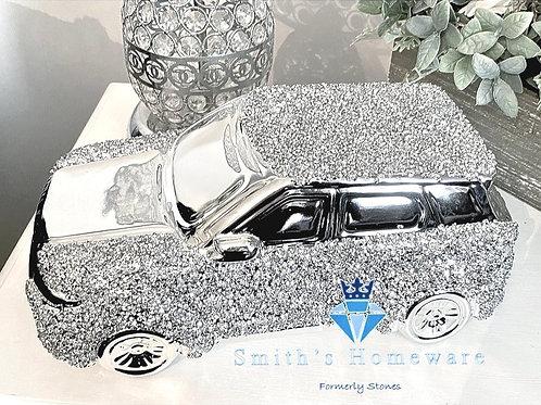 Diamante Range Rover Ornament