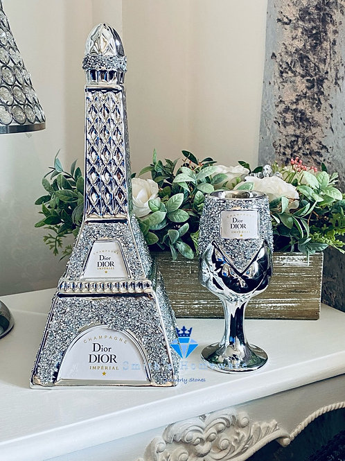 Bottle and glass set