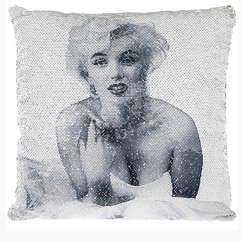 Marilyn Monroe Sequin Cushion