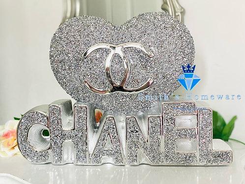 Diamanté Heart ornament