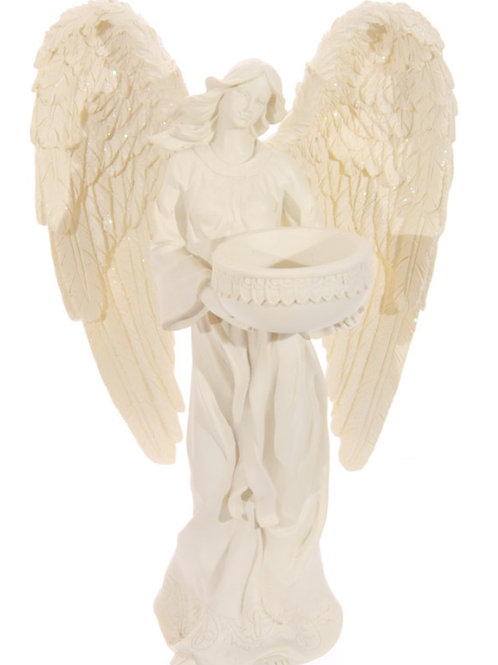Standing Angel Tea light Holder
