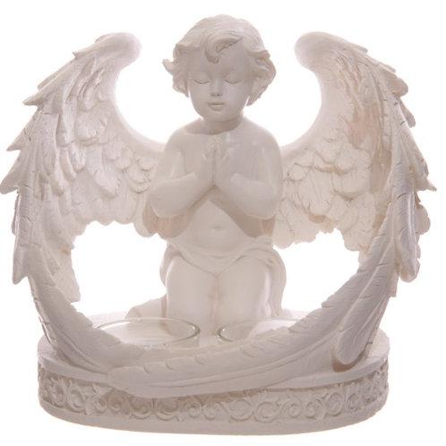 Cherub wings Tea light Holder