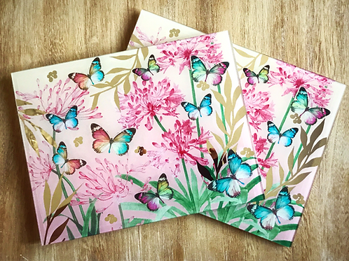Butterfly Blossom Placemats