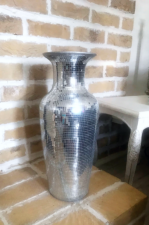 Medium Mirror Mosaic  Vase