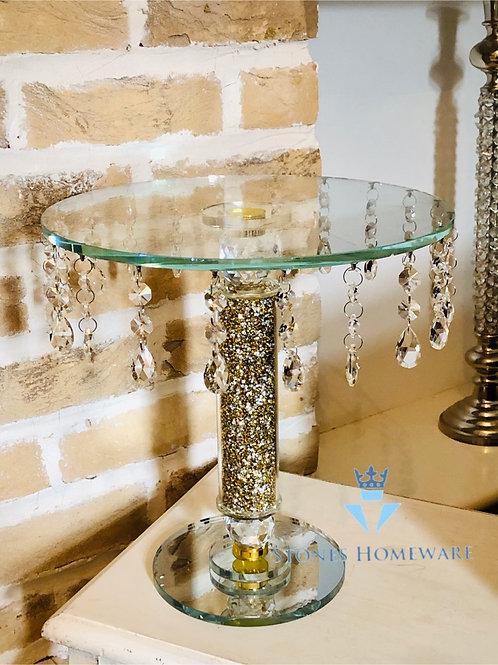 Glass Beaded cake Table