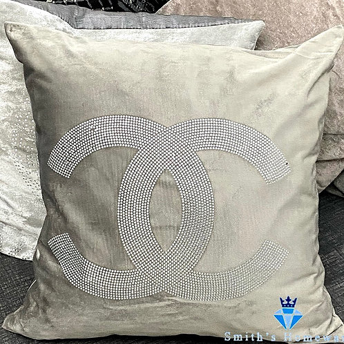 Inspired Cushion - Silver