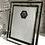 Thumbnail: Mirror and Black Glitter Frame 8x10