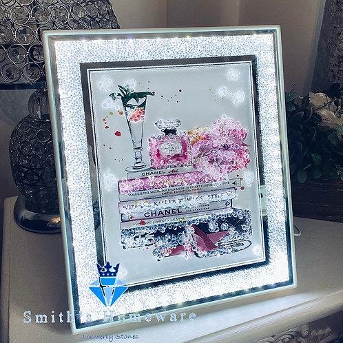 LED framed print