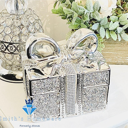 Diamante Present Ornament