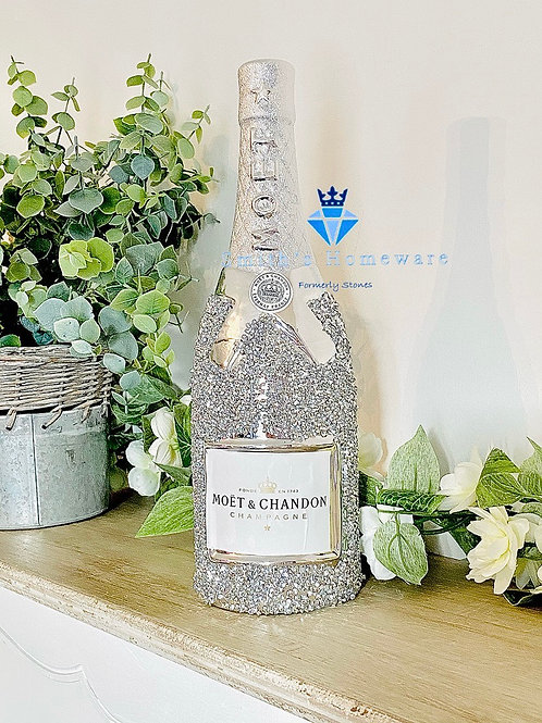 Diamanté Champagne Bottle