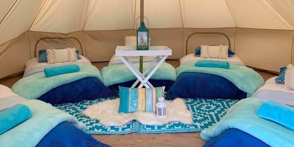 Coastal Blue Slumber Party