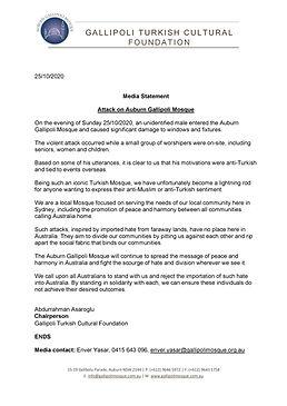Media Release - Mosque Attack 25102020-p