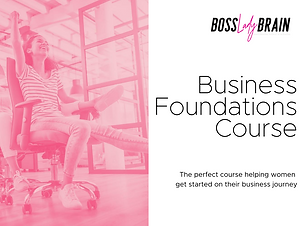 Boss Lady Brain Business Start-Up Course