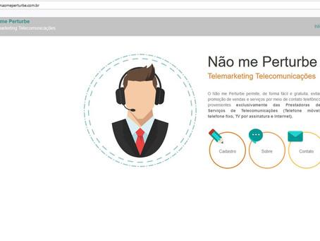 """Esta valendo o cadastro para bloqueio de telemarketing """"não perturbe""""!"""