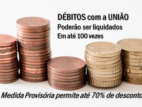 Governo aprova medida provisória para regularização de débitos com a União