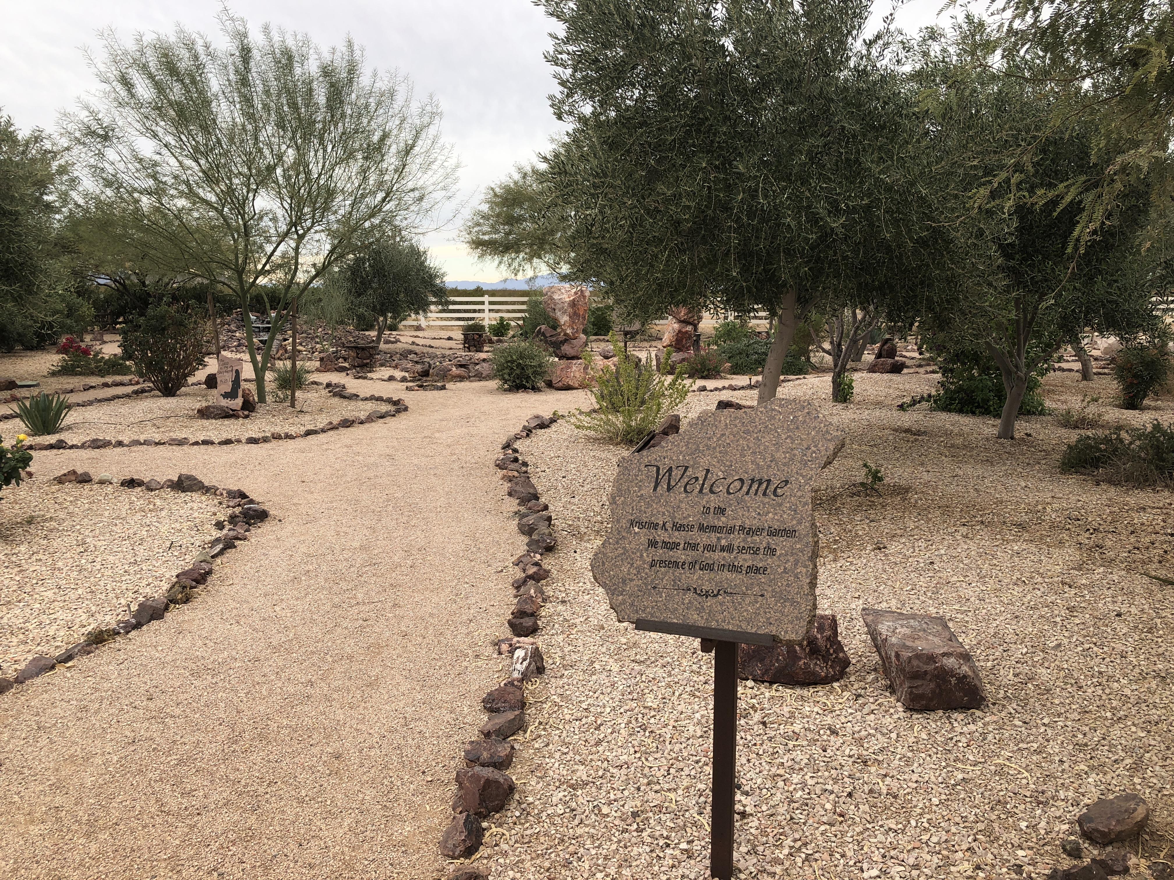 Standing Stones In The Garden