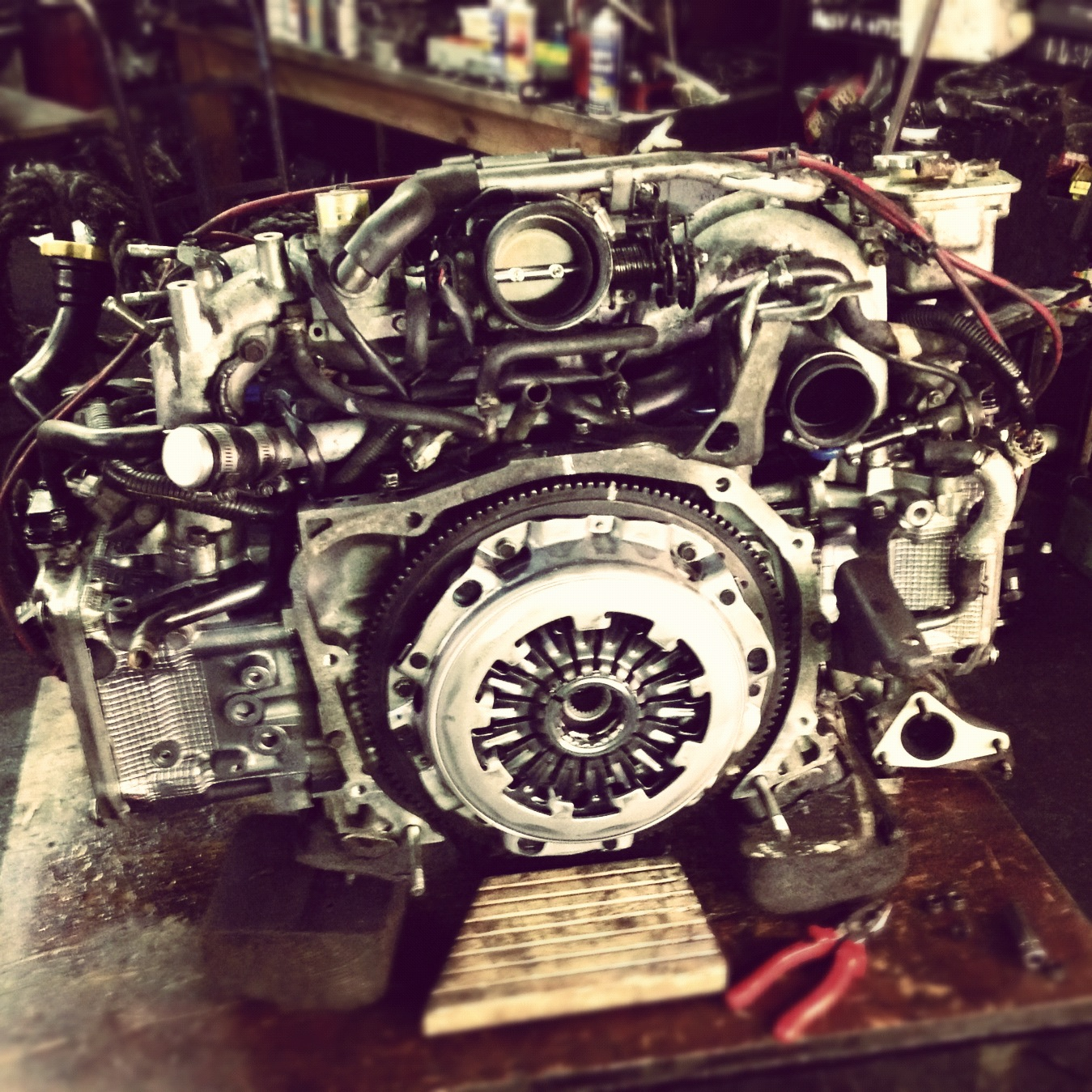 Subaru Impreza -Reconditioned Engine