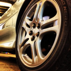 Subaru Impreza WRX alloy wheel