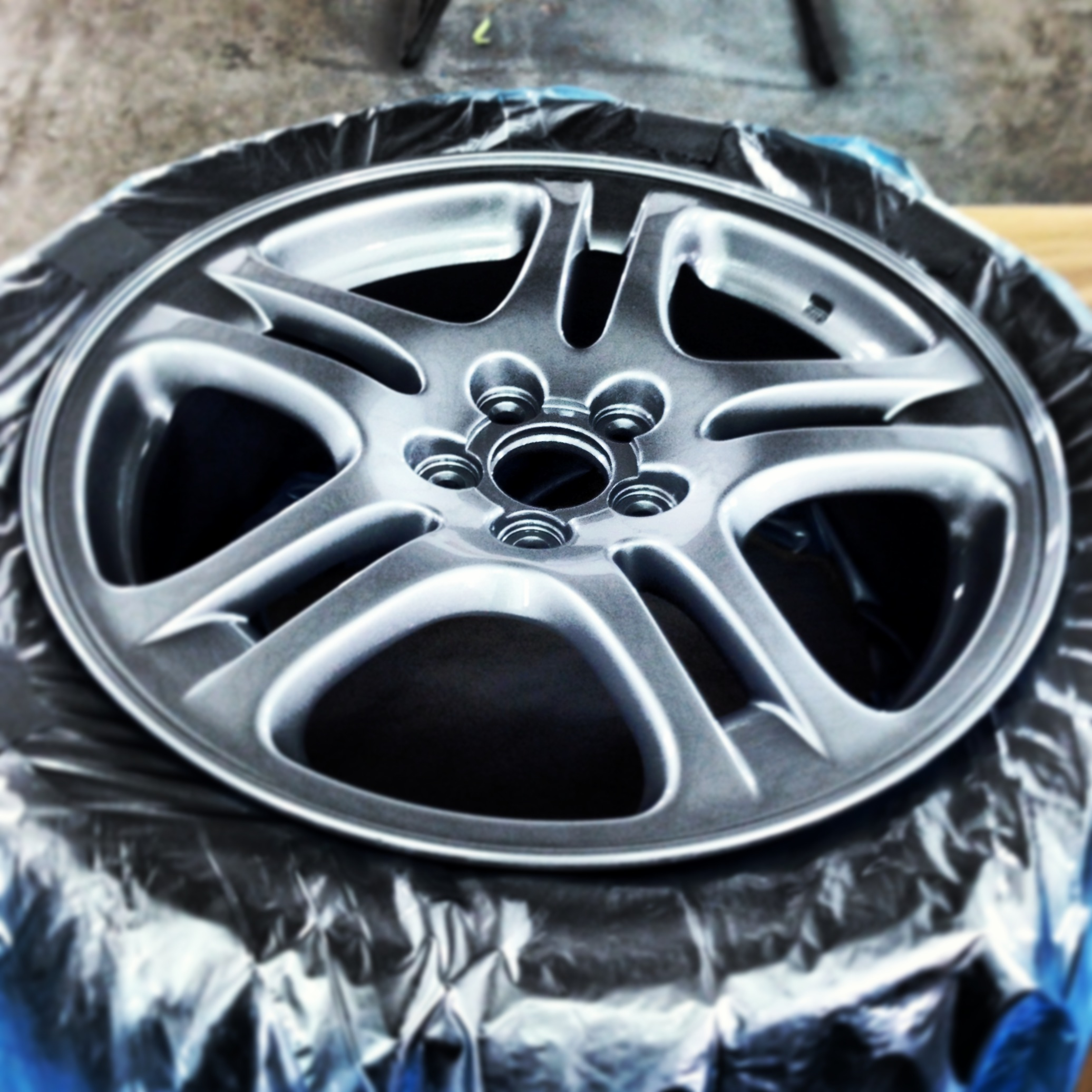 Subaru Impreza - Alloy Repaint