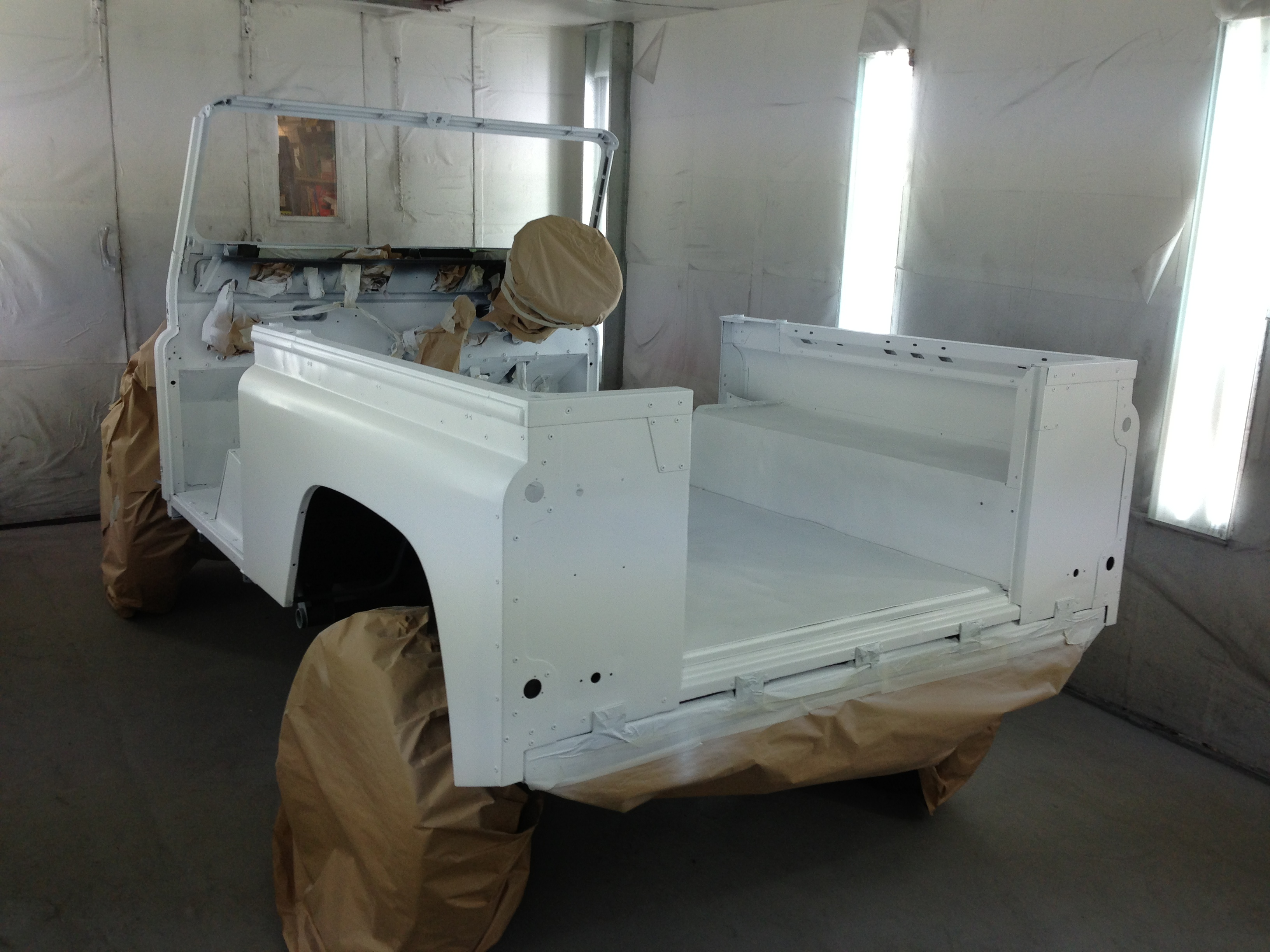 Defender 90 Custom -MainBody Topcoat