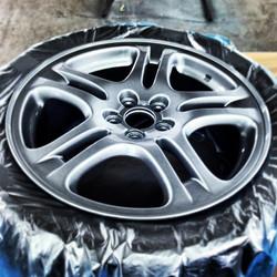 Alloy wheel repaint