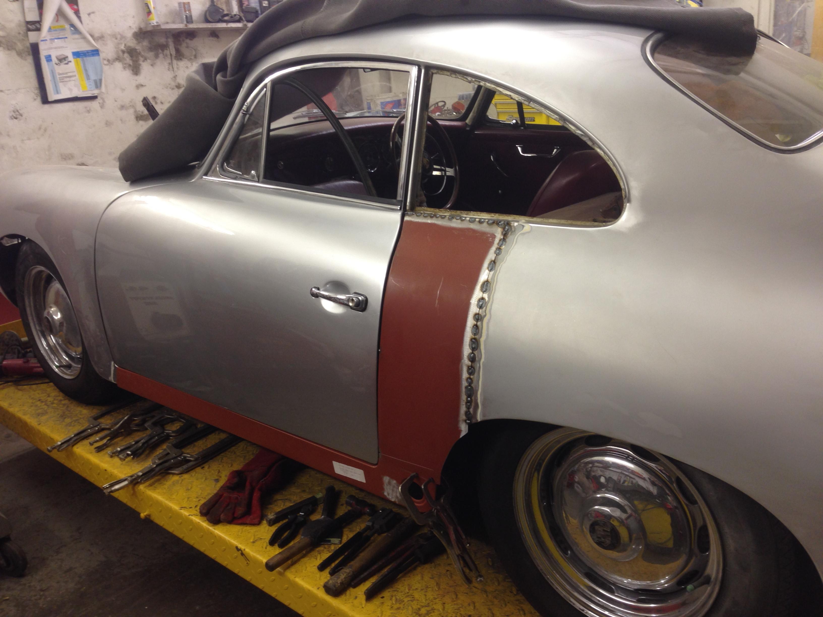 Porsche 356 B 1961 - QTR Repair