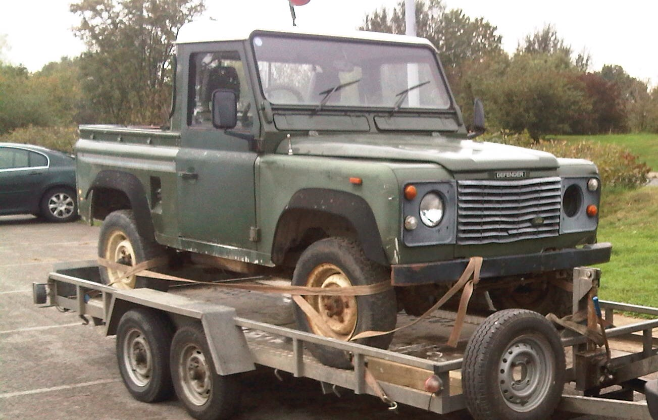 Defender 90 Custom - Project Start!