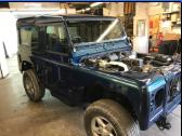 Land Rover Defender 40th V8