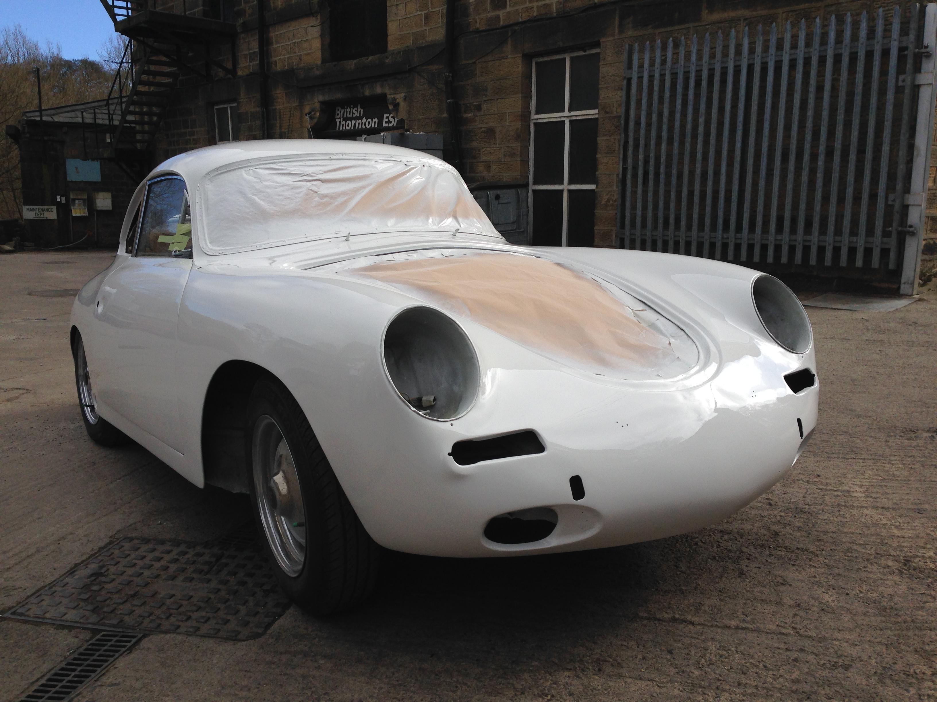 Porsche 356 B 1961 Post-Topcoat