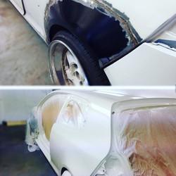 Volkswagen Golf Mk5 wheel arch