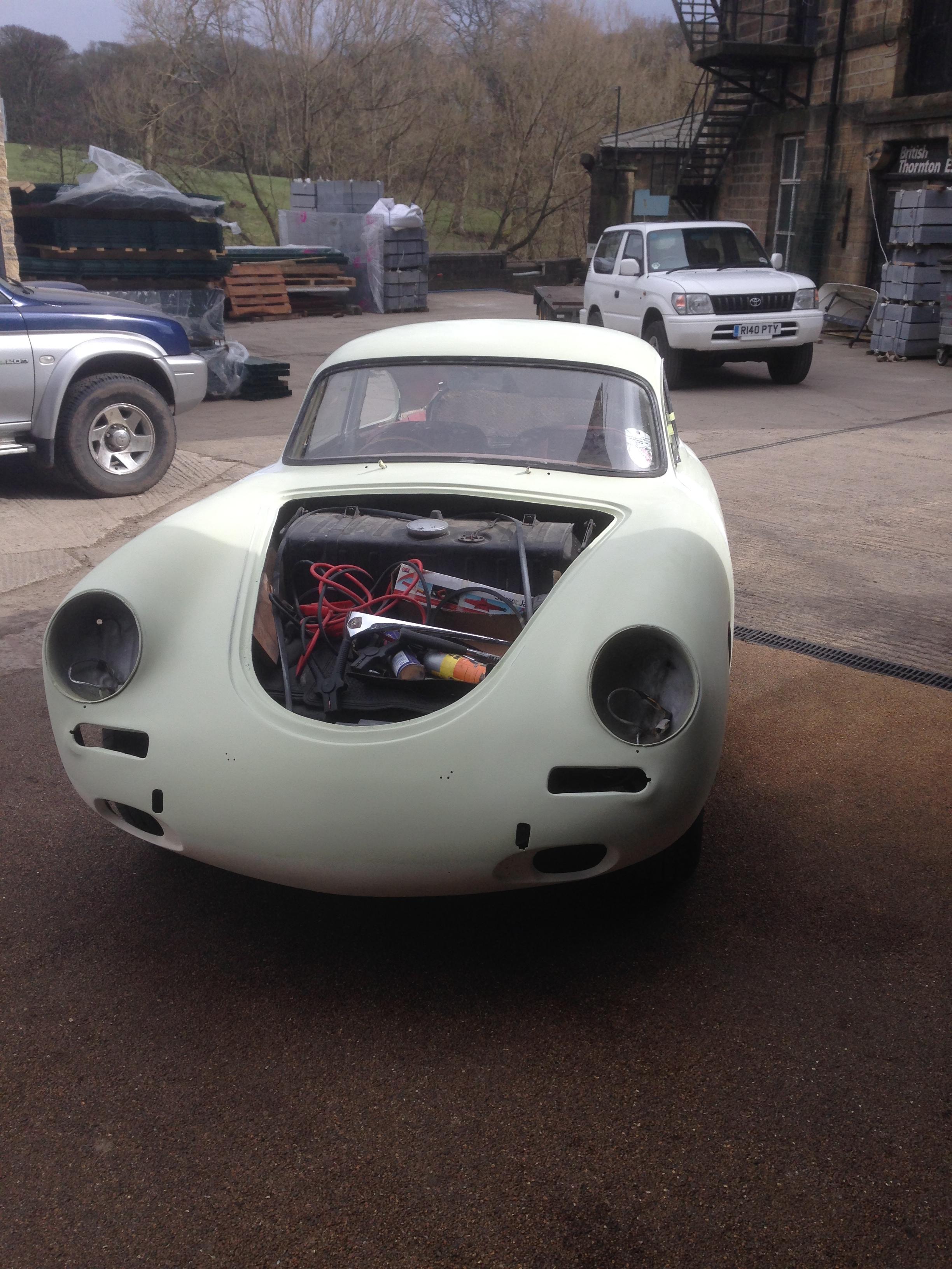 Porsche 356 B 1961 - Post-priming