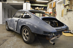 Porsche 912 - Mid-Prep