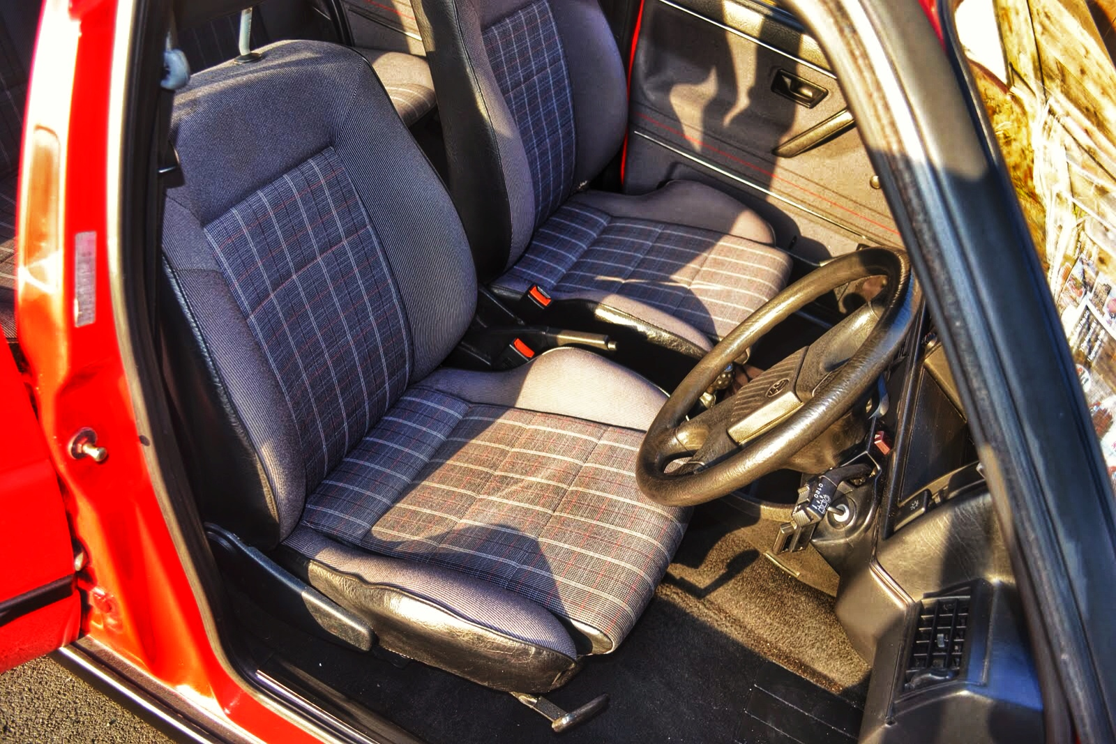 VW Golf Mk2 Gti 8v - Interior