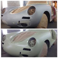 Porsche 356 B 1961- Pre+Post Priming