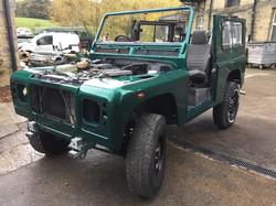 Land Rover Defender 90 Goblin Green