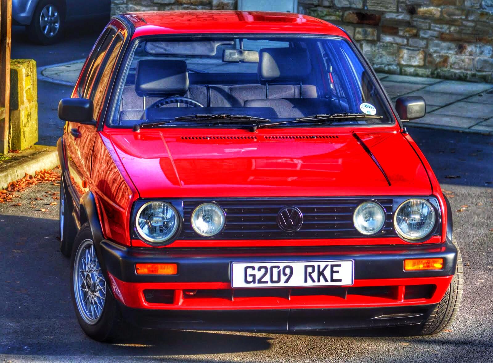 VW Golf Mk2 Gti 8v