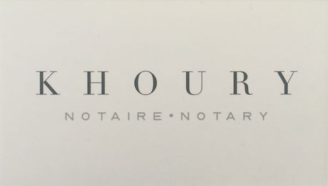 Khoury Notary