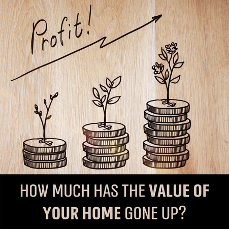 Curious how much your home has appreciated over the last year?! ⬆🏡