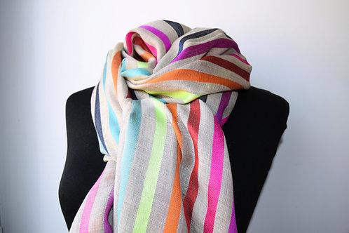 Silk and Wool shawl