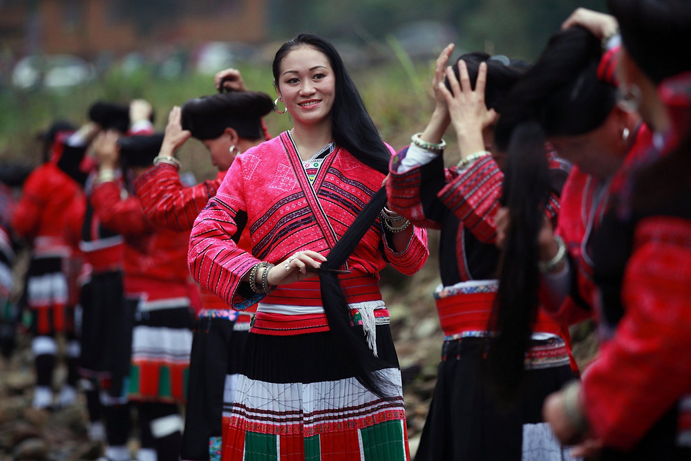 yao women hair