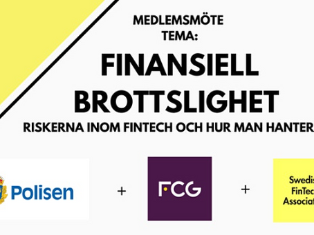 Digitalt medlemsmöte om finansiell brottslighet