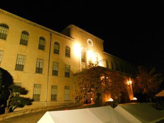 夜の第Ⅰキャンパスの様子