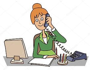 depositphotos_5033287-Secretary-in-the-o