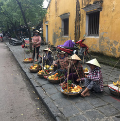 Fruit sellers, Hoi An, Vietnam