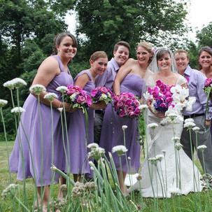 Meghan and her Bridesmaids