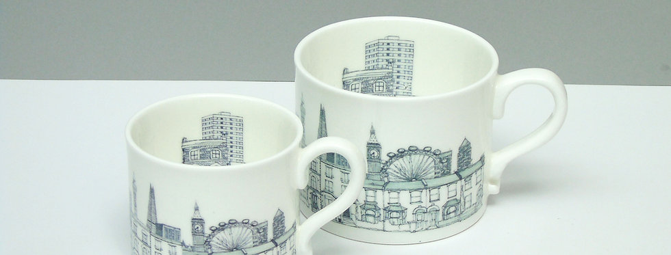 London Houses Mugs