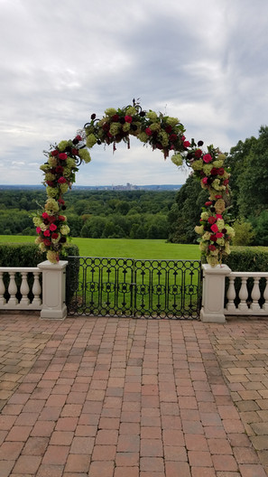 Floral Archway at Wickham Park